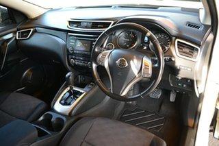 2015 Nissan Qashqai J11 TS White 1 Speed Constant Variable Wagon.