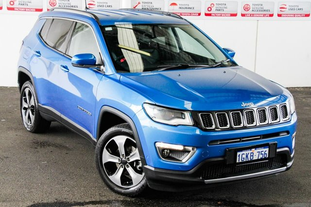 Pre-Owned Jeep Compass M6 MY18 Limited (4x4) Rockingham, 2017 Jeep Compass M6 MY18 Limited (4x4) 9 Speed Automatic Wagon