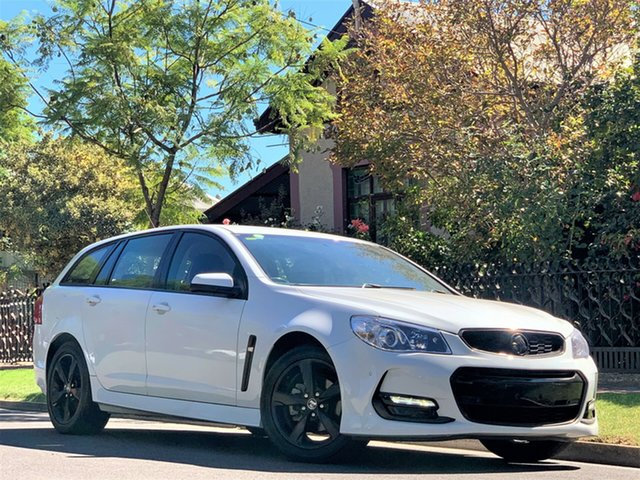 Used Holden Commodore VF II MY17 SV6 Sportwagon Hyde Park, 2017 Holden Commodore VF II MY17 SV6 Sportwagon White 6 Speed Sports Automatic Wagon