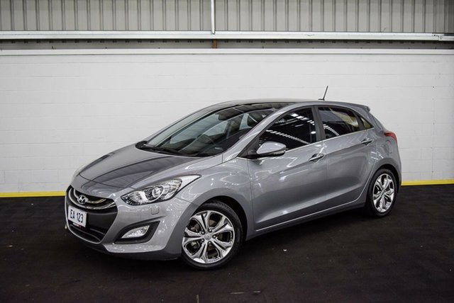 Used Hyundai i30 GD MY14 Premium Canning Vale, 2014 Hyundai i30 GD MY14 Premium Silver 6 Speed Sports Automatic Hatchback