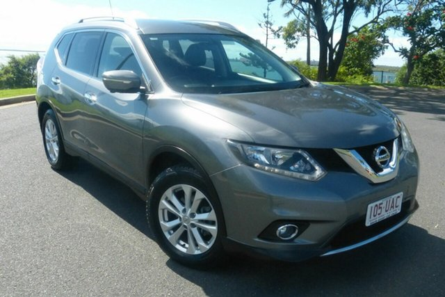 Used Nissan X-Trail T32 ST-L X-tronic 2WD Gladstone, 2015 Nissan X-Trail T32 ST-L X-tronic 2WD Grey 7 Speed Constant Variable Wagon