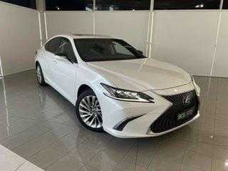 2019 Lexus ES AXZH10R ES300h Sports Luxury White 1 Speed Constant Variable Sedan Hybrid.