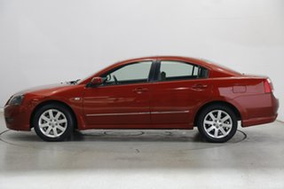 2008 Mitsubishi 380 DB Series III GTL Red 5 Speed Sports Automatic Sedan.