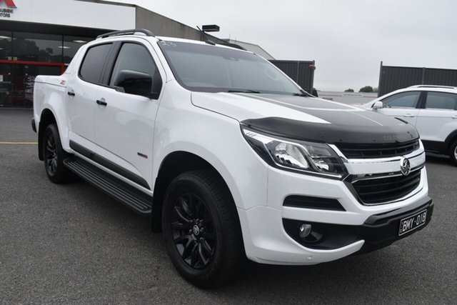 Used Holden Colorado RG MY17 Z71 Pickup Crew Cab Wantirna South, 2017 Holden Colorado RG MY17 Z71 Pickup Crew Cab White 6 Speed Sports Automatic Utility