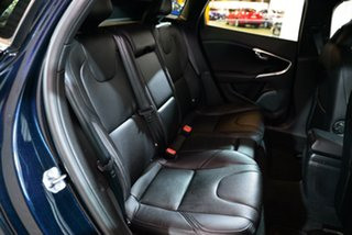 2015 Volvo V40 M Series MY16 D4 Adap Geartronic Luxury Blue 8 Speed Sports Automatic Hatchback