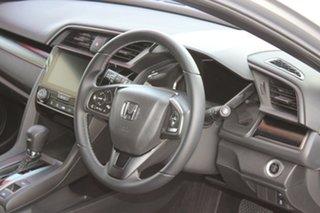 2020 Honda Civic 10th Gen MY20 VTi-S Lunar Silver 1 Speed Constant Variable Hatchback.