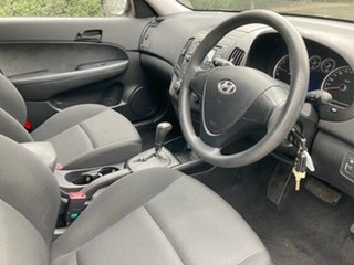 2009 Hyundai i30 FD MY09 SX Black 4 Speed Automatic Hatchback.