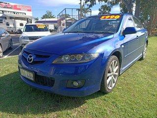 2005 Mazda 6 GG1031 MY04 Luxury Blue 4 Speed Sports Automatic Hatchback.