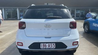 2020 Hyundai Venue QX.V3 MY21 Elite Polar White 6 Speed Automatic Wagon.