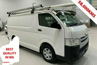 2019 Toyota HiAce TRH201R LWB White 6 Speed Automatic Van.