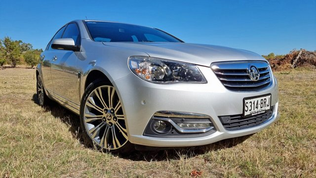 Used Holden Calais VF MY14 V Nuriootpa, 2013 Holden Calais VF MY14 V Silver 6 Speed Sports Automatic Sedan