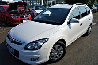 2012 Hyundai i30 GD Active Tourer White 6 Speed Sports Automatic Wagon.