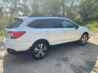 2017 Subaru Outback B6A MY18 2.5i CVT AWD White 7 Speed Constant Variable Wagon.