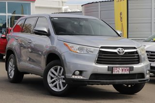 2016 Toyota Kluger GSU55R GX AWD Silver 6 Speed Sports Automatic Wagon.