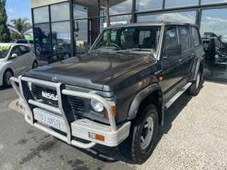 1992 Nissan Patrol GQ ST (4x4) Grey 4 Speed Automatic 4x4 Wagon