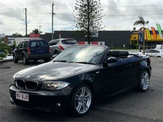 2009 BMW 120i E88 120i Black 6 Speed Automatic Convertible