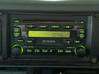 2004 Toyota Landcruiser HDJ78R RV Troopcarrier White 5 Speed Manual Wagon