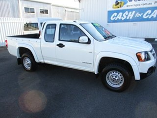 2010 Holden Colorado 4x2 Extra Cab White 4 Speed Automatic Utility.