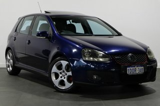 2006 Volkswagen Golf V GTI DSG Blue 6 Speed Sports Automatic Dual Clutch Hatchback.