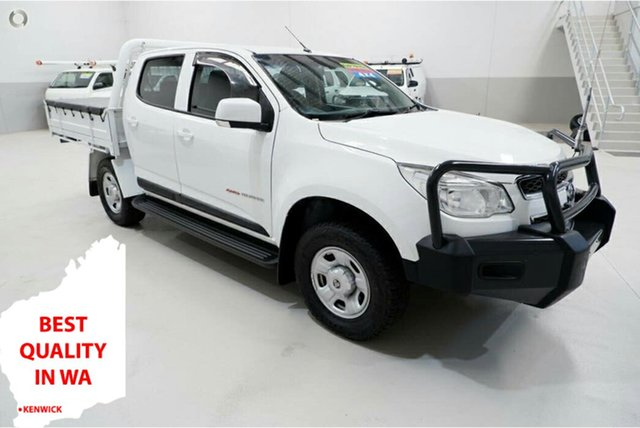 Used Holden Colorado RG MY16 LS Crew Cab Kenwick, 2016 Holden Colorado RG MY16 LS Crew Cab White 6 Speed Sports Automatic Cab Chassis