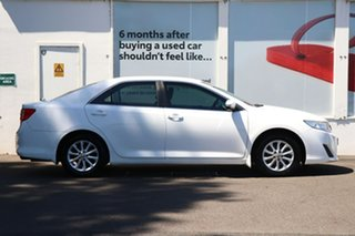 2013 Toyota Camry ASV50R Altise Diamond White 6 Speed Automatic Sedan