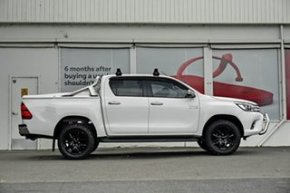 2017 Toyota Hilux GUN126R SR5 Double Cab Glacier White 6 Speed Sports Automatic Utility