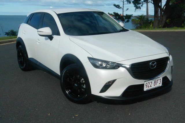 Used Mazda CX-3 DK2W76 Neo SKYACTIV-MT Gladstone, 2017 Mazda CX-3 DK2W76 Neo SKYACTIV-MT White 6 Speed Manual Wagon