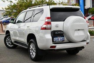 2016 Toyota Landcruiser Prado GDJ150R VX White 6 Speed Sports Automatic Wagon.
