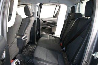 2016 Toyota Hilux GUN126R SR (4x4) Graphite 6 Speed Manual Dual Cab Chassis