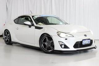 2013 Toyota 86 ZN6 GTS White 6 Speed Sports Automatic Coupe