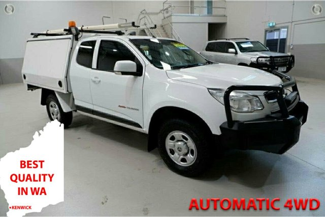Used Holden Colorado RG MY16 LS Space Cab Kenwick, 2016 Holden Colorado RG MY16 LS Space Cab White 6 Speed Sports Automatic Cab Chassis