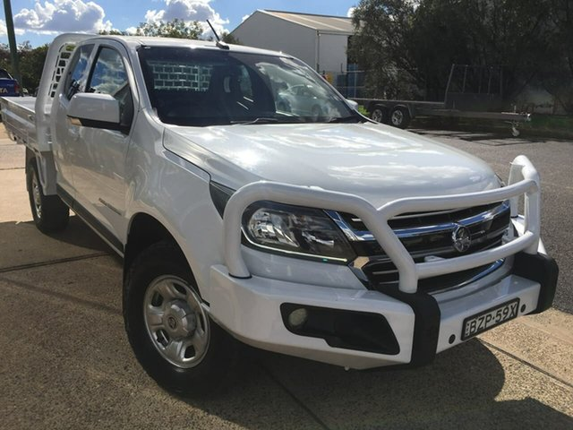 Used Holden Colorado RG LS Dubbo, 2017 Holden Colorado RG LS White Sports Automatic
