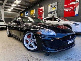 2012 Jaguar XKR X150 S Black Sports Automatic Coupe.