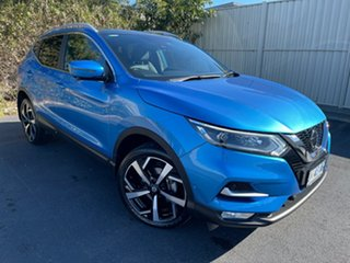 2018 Nissan Qashqai J11 Series 2 Ti X-tronic Vivid Blue 1 Speed Constant Variable Wagon.