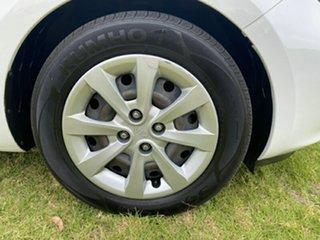 2014 Kia Rio UB MY15 S White 4 Speed Sports Automatic Hatchback.
