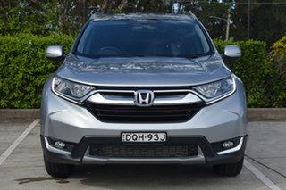 2017 Honda CR-V RW MY18 VTi-L FWD Silver, Chrome 1 Speed Constant Variable Wagon.