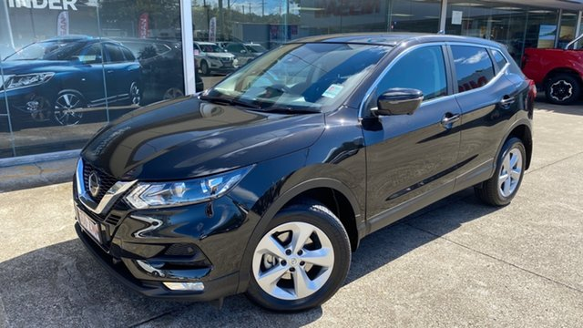Demo Nissan Qashqai J11 Series 3 MY20 ST+ X-tronic Moorooka, 2019 Nissan Qashqai J11 Series 3 MY20 ST+ X-tronic Pearl Black 1 Speed Constant Variable Wagon