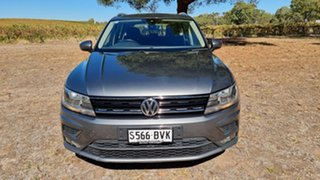 2017 Volkswagen Tiguan 5N MY18 110TDI DSG 4MOTION Comfortline Indium Grey 7 Speed.