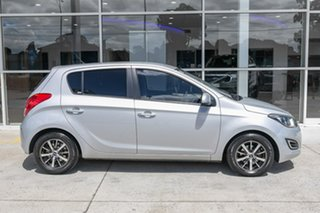 2015 Hyundai i20 PB MY15 Active Silver 6 Speed Manual Hatchback.