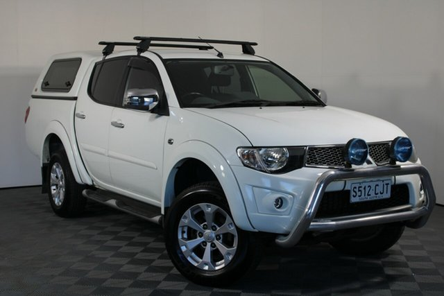 Used Mitsubishi Triton MN MY15 GLX-R Double Cab Wayville, 2015 Mitsubishi Triton MN MY15 GLX-R Double Cab White 5 Speed Sports Automatic Utility