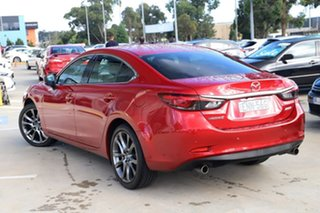 2018 Mazda 6 GL1031 Atenza SKYACTIV-Drive Red 6 Speed Sports Automatic Sedan.