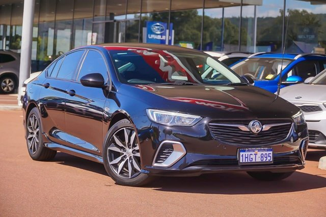 Used Holden Commodore ZB MY19.5 RS Liftback AWD Gosnells, 2019 Holden Commodore ZB MY19.5 RS Liftback AWD Black 9 Speed Sports Automatic Liftback
