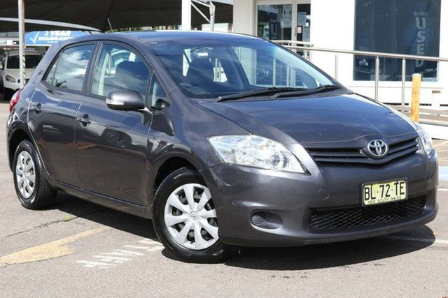 Used Toyota Corolla ZRE152R MY11 Ascent North Gosford, 2011 Toyota Corolla ZRE152R MY11 Ascent Grey 4 Speed Automatic Hatchback