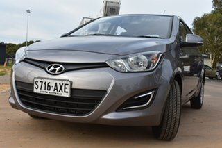 2013 Hyundai i20 PB MY13 Active Grey 4 Speed Automatic Hatchback.