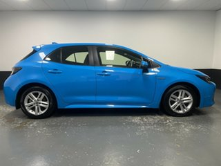 2018 Toyota Corolla ZWE211R Ascent Sport E-CVT Hybrid Blue 10 Speed Constant Variable Hatchback