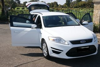 2013 Ford Mondeo MC LX TDCi White 6 Speed Direct Shift Hatchback