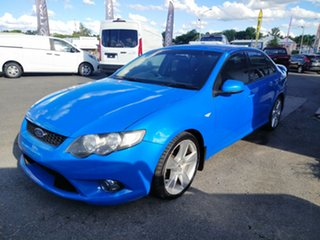 2008 Ford Falcon FG XR8 Blue 6 Speed Sports Automatic Sedan.