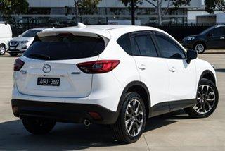 2015 Mazda CX-5 KE Series 2 Grand Touring White Sports Automatic SUV.