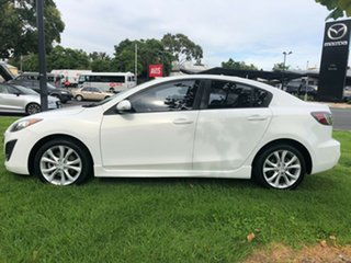 2010 Mazda 3 BL10L1 SP25 Activematic Crystal White 5 Speed Sports Automatic Sedan