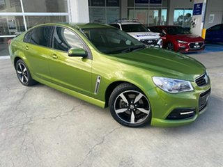 2015 Holden Commodore VF MY15 SS Green 6 Speed Sports Automatic Sedan.